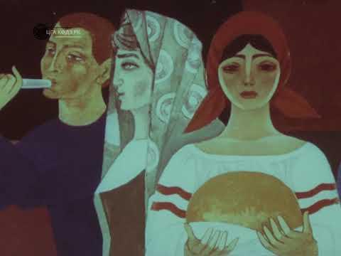 """Monumental Art of Kazakhstan"" (1976) - Documentary on Soviet Mosaics"