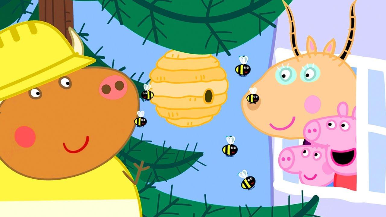 Download Peppa besucht das schiefe Haus von Madame Gazelle ⭐ Cartoons für Kinder   Peppa Wutz Neue Folgen