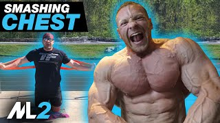 Superset Chest Challenge - Resistance-Band Workout Day 25 - Daily Home Workout