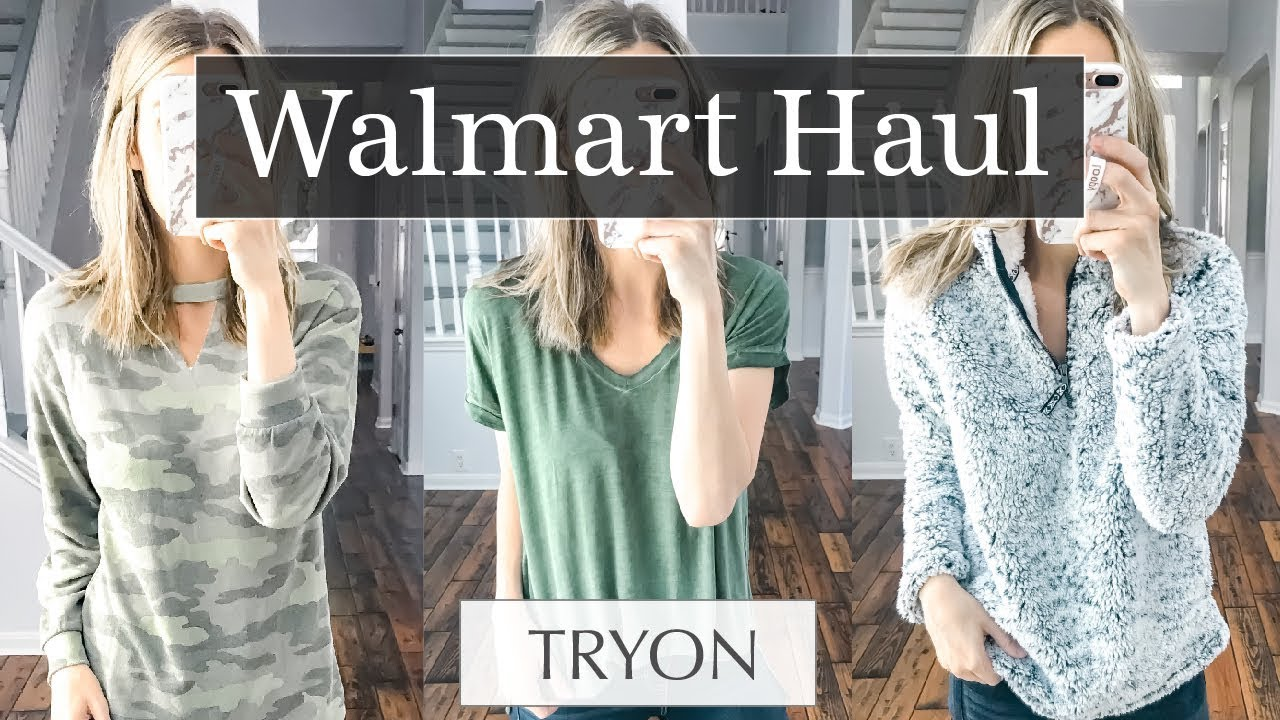 Walmart Try On Haul 2018 Fall Outfits 1