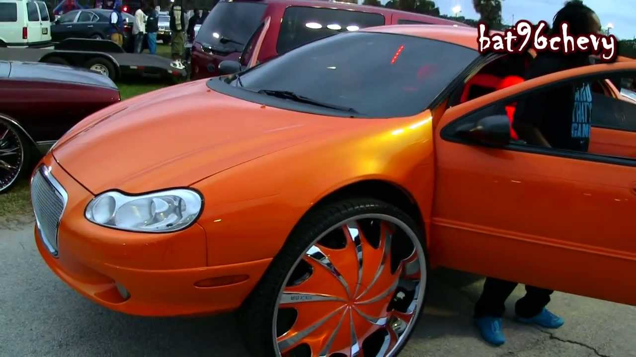 Outrageous Chrysler Concorde On 30 Rims