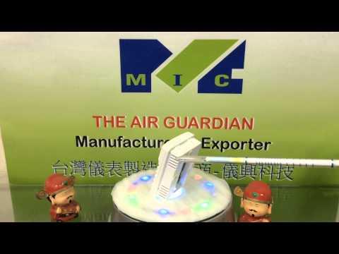 CO2 transmitter analog output 4-20mA, 0-10v selectable