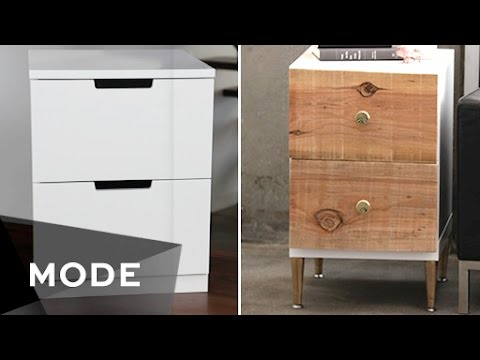 DIY Dress Up Your Dresser | Right At Home ☆ Glam.com   YouTube