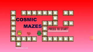Cosmic Mazes Valentine's day series.