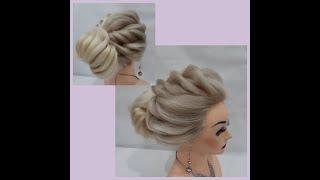 Удивительная прическа Прическа на каждый день Amazing hairstyle Hairstyle for every day