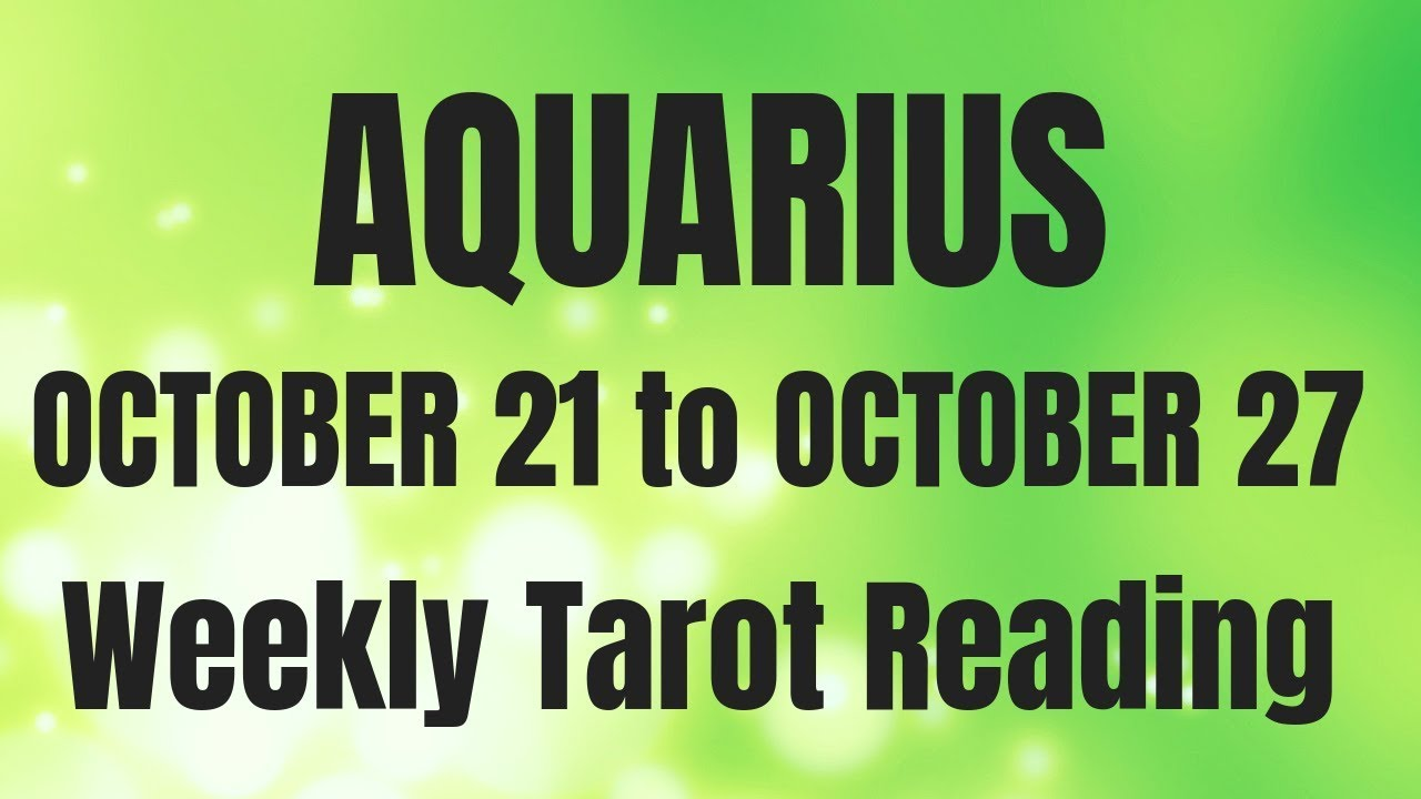 aquarius weekly 10 to 16 tarot february 2020