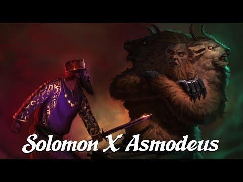 When Solomon Met Asmodeus [The Testament of Solomon] (Angels & Demons Explained)