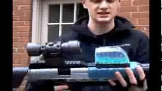 Blaster pro Sniper Rifle test