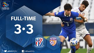 #ACL2020 : SHANGHAI SHENHUA FC (CHN) 3 - 3 PERTH GLORY (AUS) : Highlights