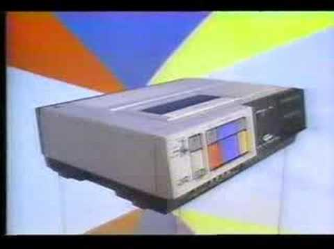 1983 Commercial Jvc Hr7100 Vcr Youtube