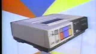 1983 commercial - JVC HR7100 VCR