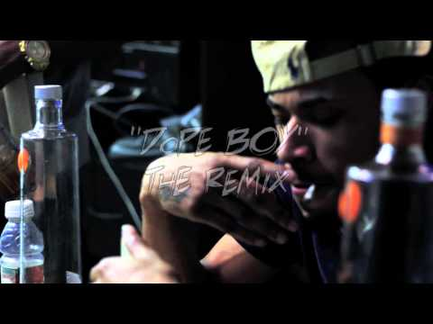 SPAZ-O FT. RED CAFE (Offical HD video) - Dope Boy Remix!!!