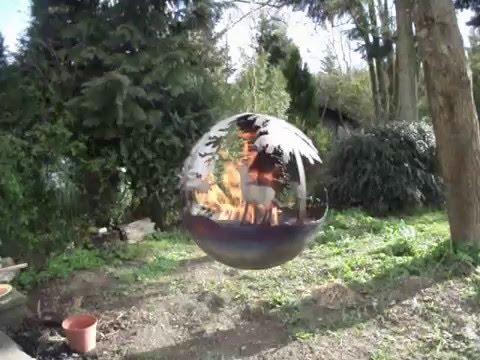 Die kleine wald feuerkugel youtube - Feuerkugel garten ...