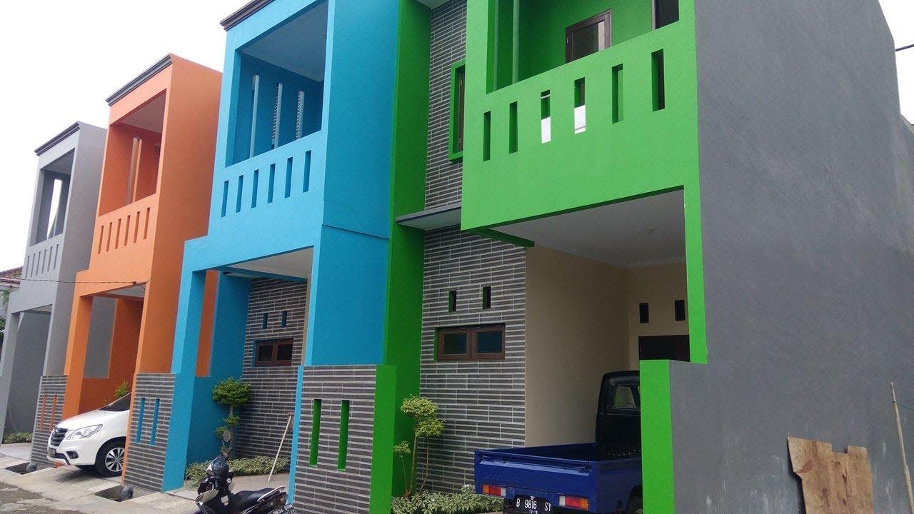 Rumah Minimalis Di Lahan Sempit 50m2 | Rumah Mungil Duren Sawit Dijual - YouTube