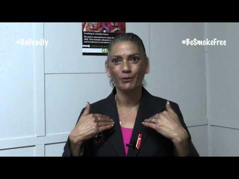 Sonia starts her #BeSmokeFree journey
