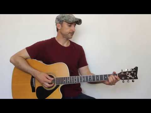 Must Be The Whiskey - Cody Jinks - Guitar Lesson | Tutorial
