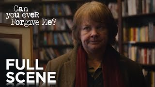 CAN YOU EVER FORGIVE ME? | Full Scene | FOX Searchlight