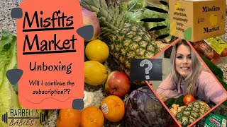 MISFITS MARKET UNBOXING 2021 was it worth it? WHAT IS ALL THE HYPE?