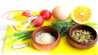 Салат с редисом и яйцом: русский и восточный рецепты