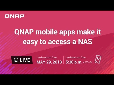 QNAP mobile apps make it easy to access a NAS