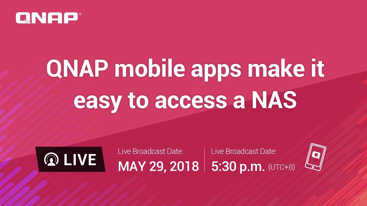 QNAP mobile apps make it easy to access a NAS - YouTube