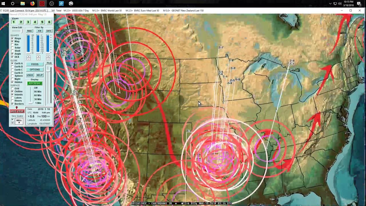 3182018 Global Earthquake Forecast Deep