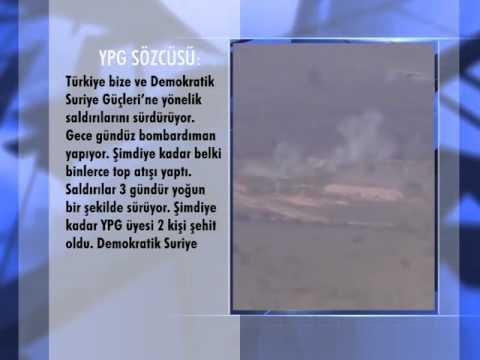 YPG: Türkiye Afrin'e Bağlı Köylere De Saldırıyor