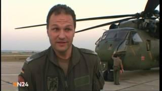 DIE FLIEGENDE FEUERWEHR. N24 Reportage