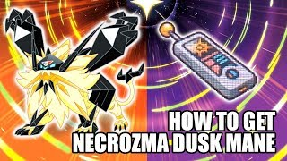 Pokémon UltraSun -How t๐ get Necrozma Dusk Mane Form
