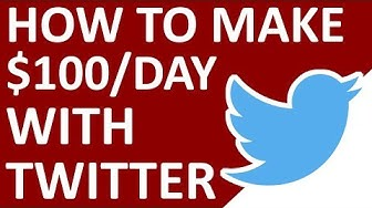 How To Make $100/Day With Twitter (Easy Beginner Friendly Method)