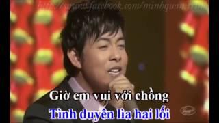 Karaoke Được tin em lấy chồng - Quang Lê.mp4