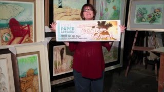 Outdoor Cast Paper Artwork Introduction