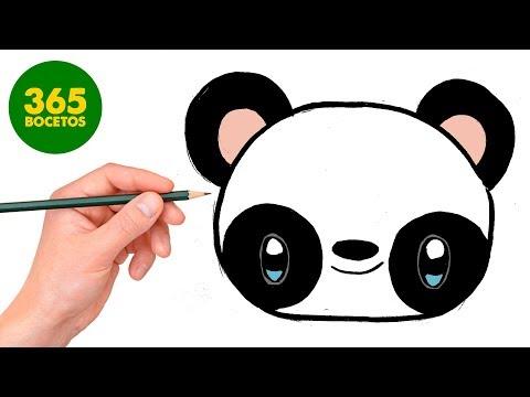 Como Dibujar Panda Kawaii Paso A Paso Dibujos Kawaii