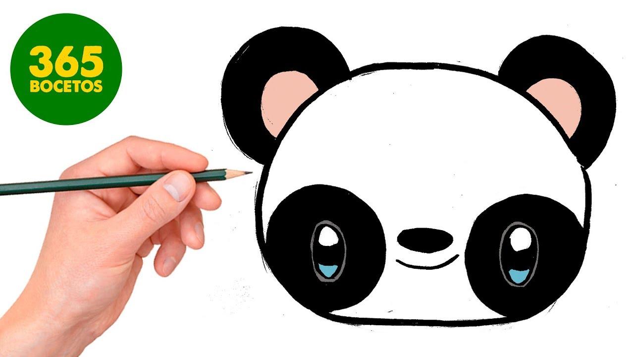Como Dibujar Panda Kawaii Paso A Paso Dibujos Kawaii Faciles How To Draw A Panda