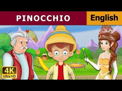Пиноккио мультфильм на английском языке