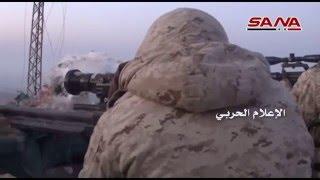 Сирия боевики не выдерживают натиска Сирийской армии