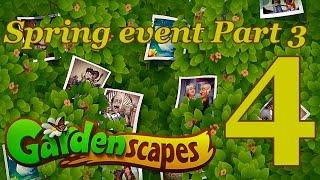 GardenScapes Spring Event Level 4 Part 3 [UNRAVEL THE CODE 4] Walkthrough