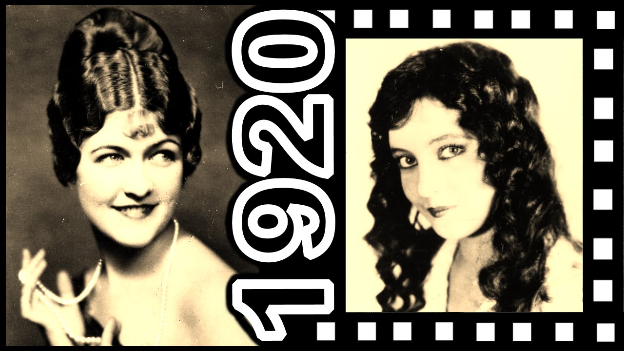 Real 1920 S Hairstyle For Long Hair Movie Icons Youtube