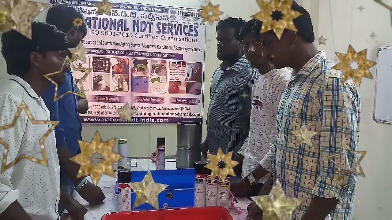 National Ndt Training Institute Visakhapatnam Youtube