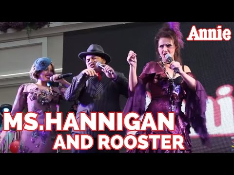 Annie The Musical   Meet Ms Hannigan and Rooster