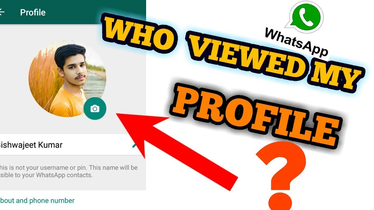 Who Viewed my Whatsapp Profile | How To See|