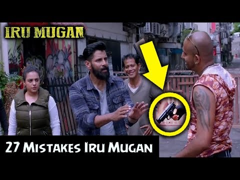 (27 mistakes) Iru Mugan 2016 |  Vikram |...
