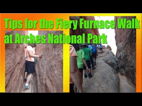 Tips for the Fiery Furnace Walk at Arches...