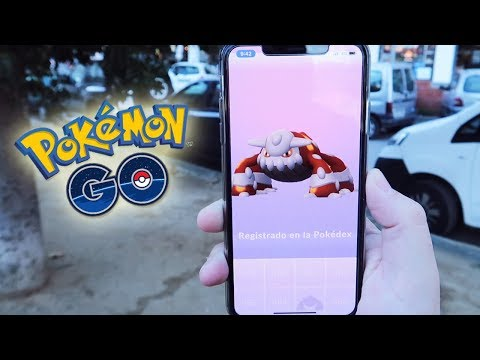 ¡CAPTURO HEATRAN! NUEVO POKÉMON LEGENDARIO de 4GEN en Pokémon GO!! [Keibron] thumbnail