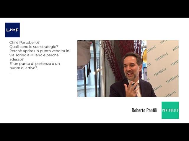Portobello, un nuovo modello di business - Roberto Panfili (Portobello)
