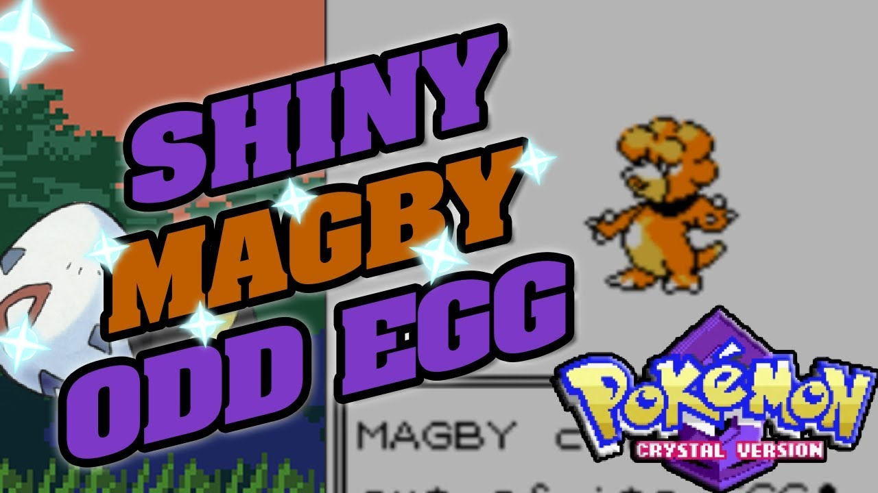 how to get magby in pokemon crystal