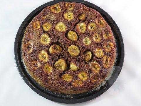 recette-du-gâteau-renversé-bananes-chocolat