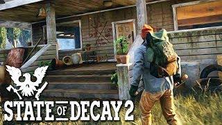 Я ЗАРАЖЕН!!! ЗОМБИ АПОКАЛИПСИС В State of Decay 2.