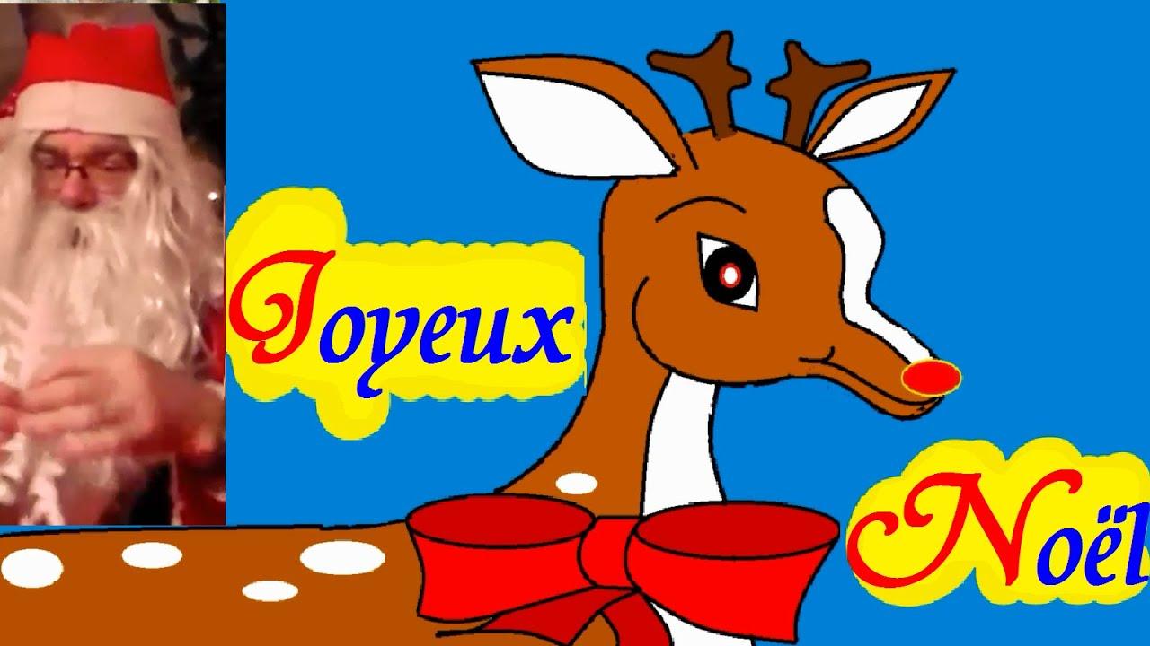 Apprendre dessiner des animaux dessin du renne rudolphe au nez rouge youtube - Dessiner un renne ...
