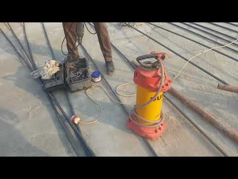 HOW TO DO CONCRETE CORE SAMPLE TEST  BY USING DIAMOND CORE DRILL